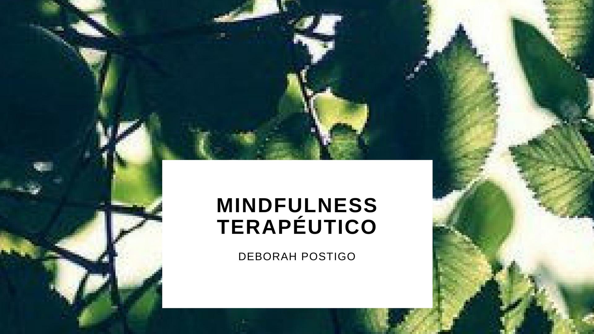 Mindfulness-terapeutico
