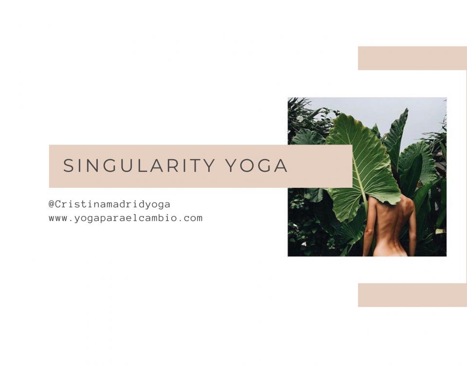 yoga singularidad y comparación