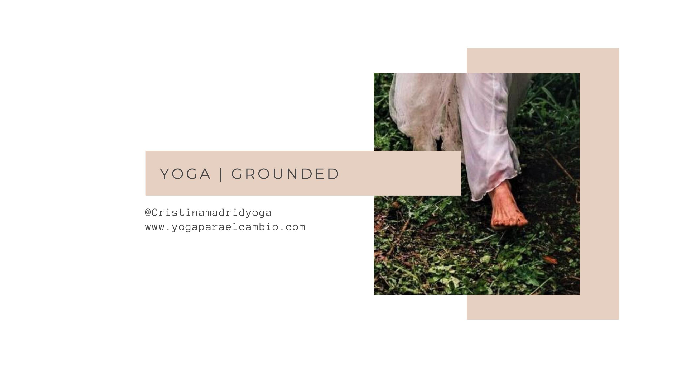 yoga grounded