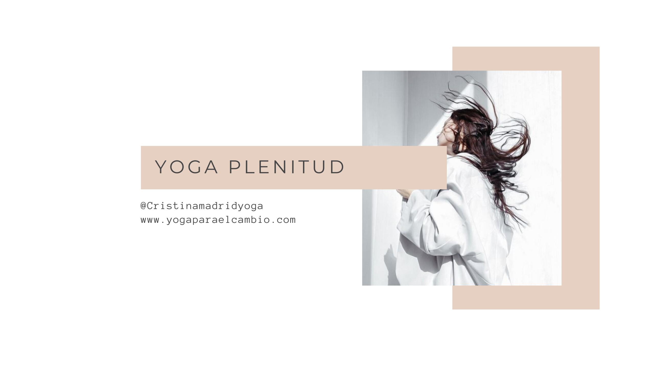 Yoga plenitud