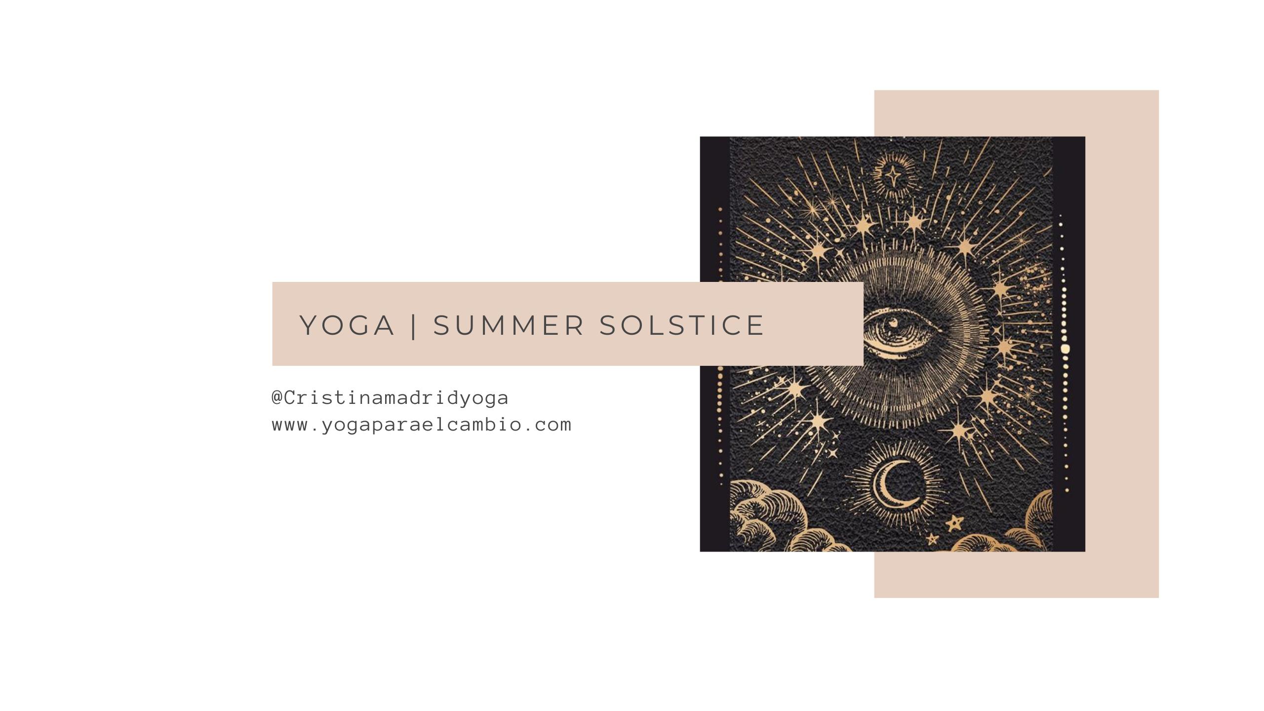 yoga solsticio verano