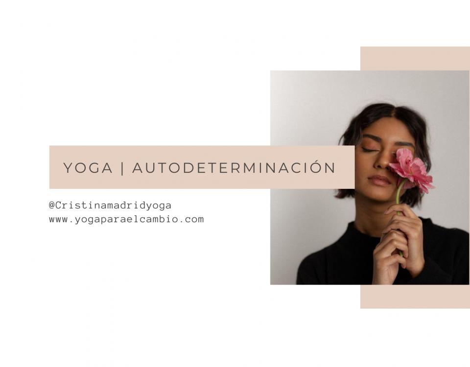yoga autodeterminación