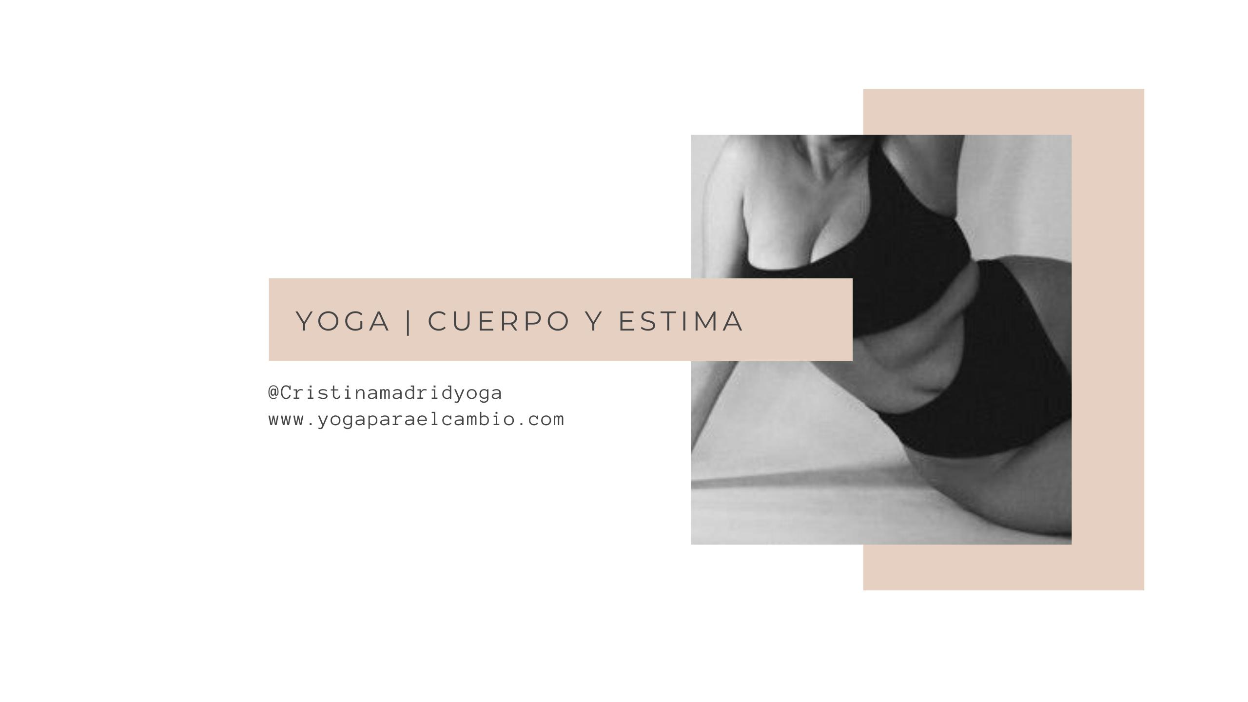 yoga cuerpo y estima