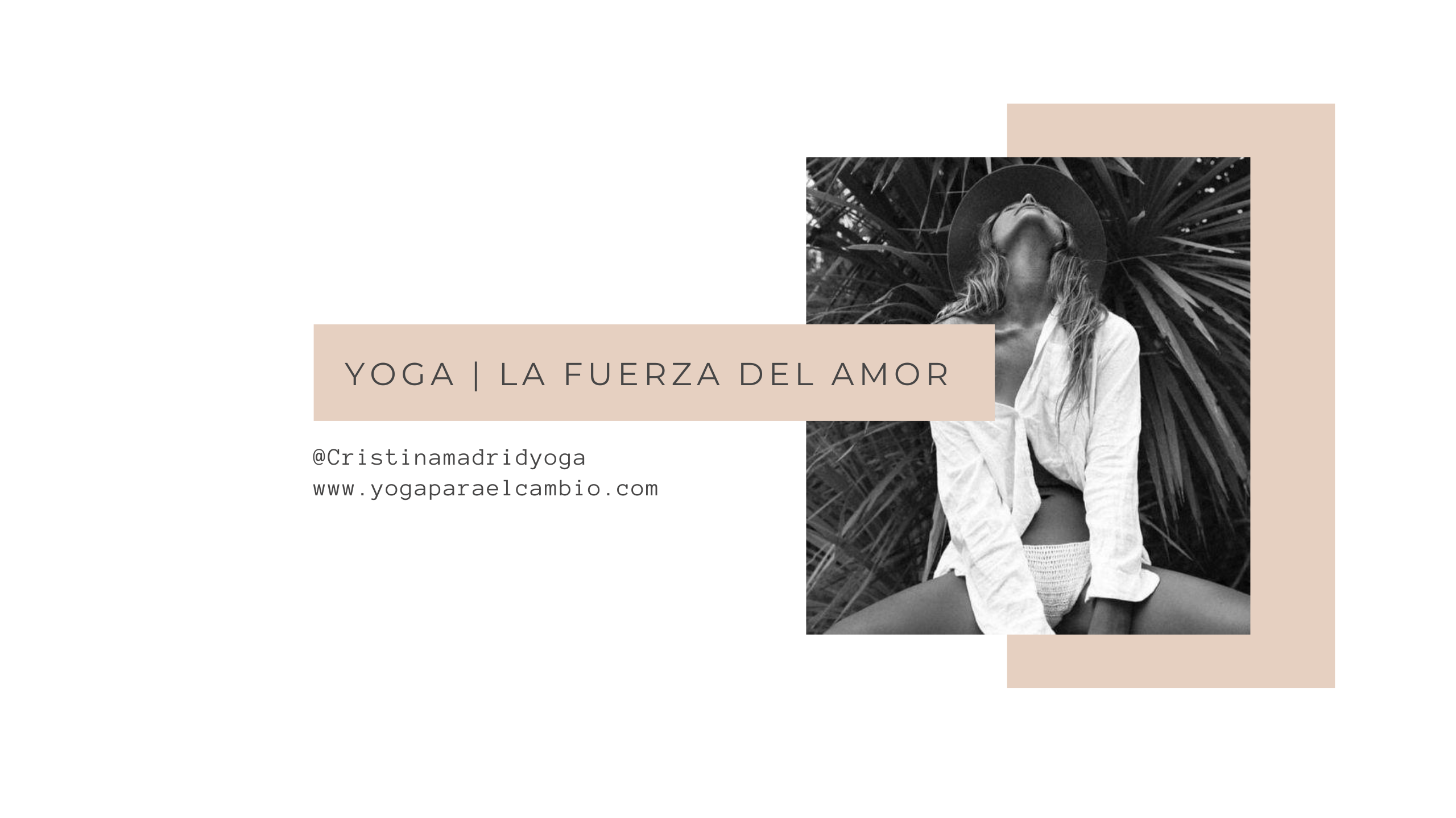 yoga fuerza del amor