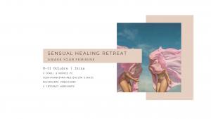 sensual healing retreat post