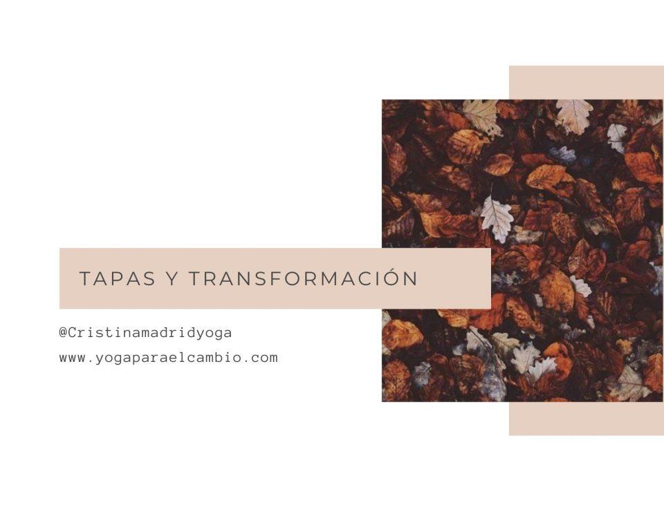 tapas y transformación