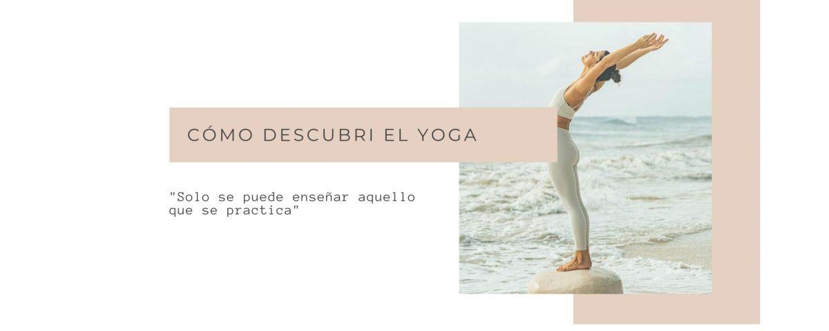 cómo descubrí el yoga