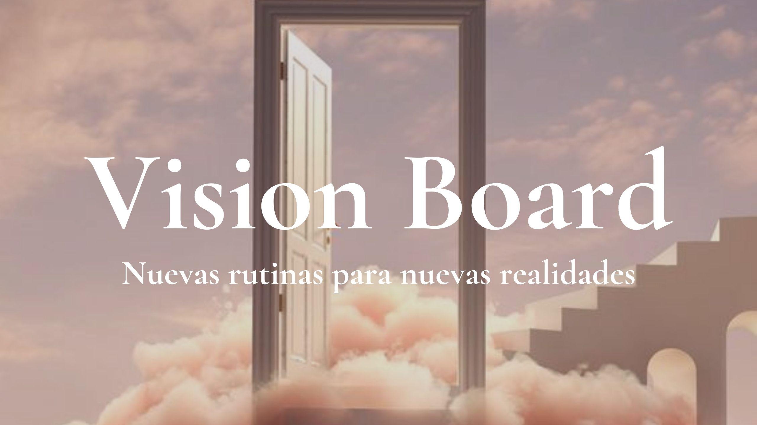 taller vision board